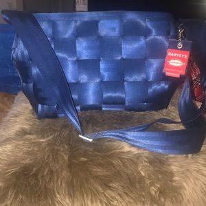 Harvey's seat belt cross body bag